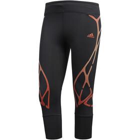 adidas AdiZero SW RC 3/4 Tights Women carbon